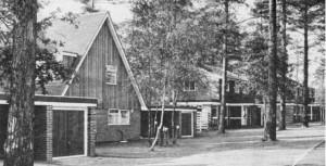 Chalet-type houses on Edgcumbe Park