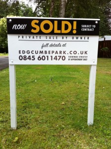 The bungalow is now... SOLD!