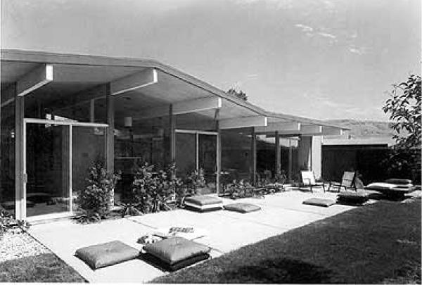 An Eichler bungalow in Sunnyvale, California