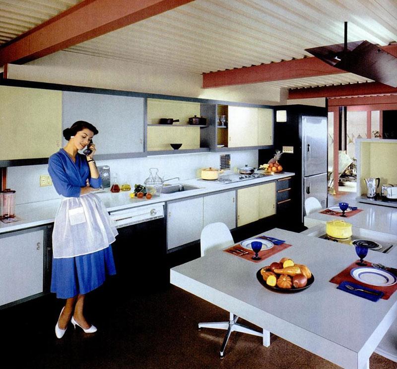 Eichler X-100 Kitchen