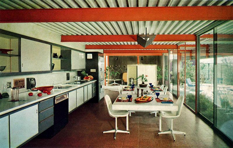 Eichler X-100 dining room