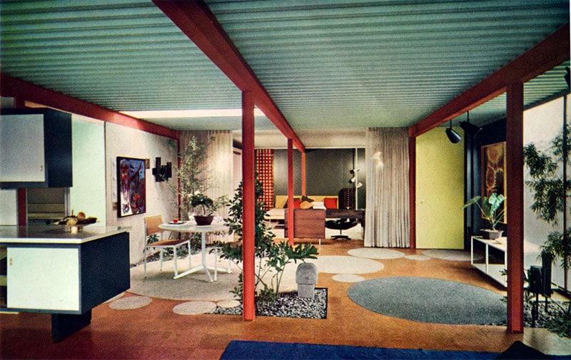 Eichler X-100 living space