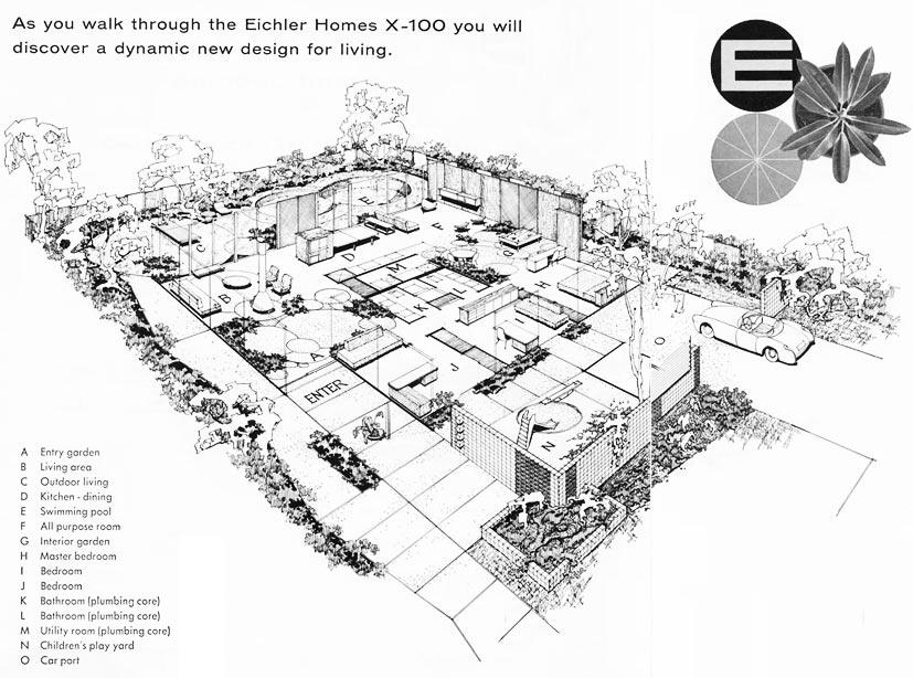Eichler X-100 Schematic, 1956